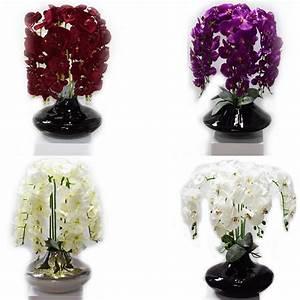 Deko Vasen Für Wohnzimmer : deko vase vasen blumenvase blumen schale orchidee modern m kunstblumen edel neu ebay ~ Bigdaddyawards.com Haus und Dekorationen