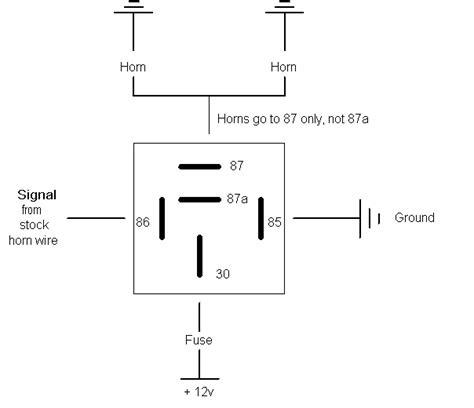 Fiamm Relay Wiring Diagram Subaru Outback