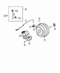 2013 Jeep Wrangler Valve  Brake Booster Check  Left Hand