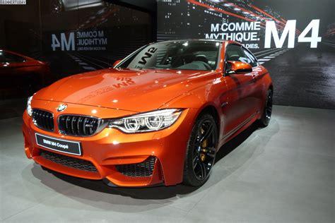 paris motor show bmw  coupe  sakhir orange