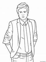 Zac Efron Coloring Pages Celebrity Printable Drawing Prints Pop Template Info sketch template