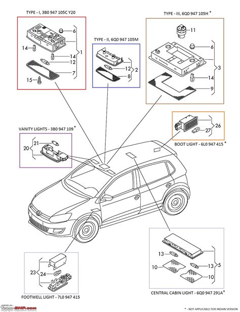 Polo 6n2 Central Locking Wiring Diagram by Vw Polo Diy Upgrading Cabin Light Headlight Switch