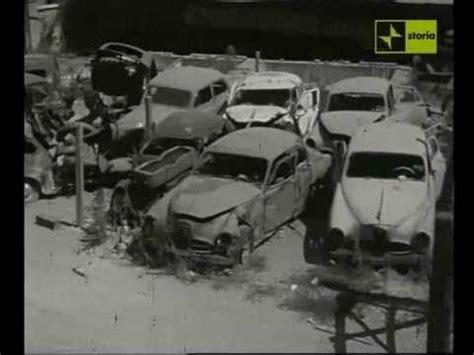 sfascia carrozze traffico e incidenti negli anni 60