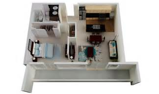 Top Photos Ideas For Single Bedroom House Plans by 50 One 1 Bedroom Apartment House Plans Architecture