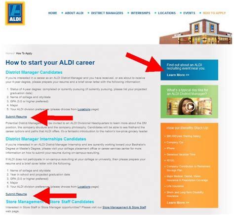 Aldi District Manager Cover Letter by Aldi Career Guide Aldi Application 2019
