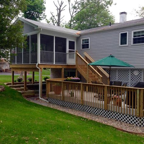 design  build     screened porch addition