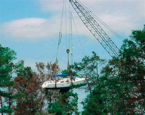 Boat Salvage After Hurricane by Meet The Boatus Cat Team Mike Mccook Seaworthy Magazine