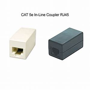 Cat5e Jacks And Rj45 Coupler