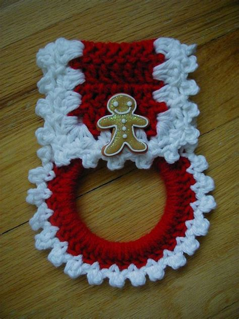 crochet towel holder httplometscom