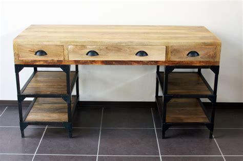 grossiste bureau bureau bois et metal bureau metal et bois achat vente
