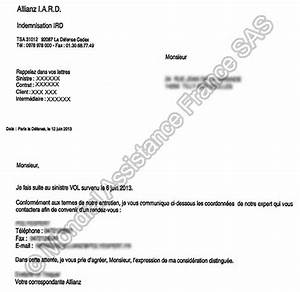 Lettre Declaration Sinistre : indemnisation documents fournir pour l 39 annulation faq allianz travel ~ Gottalentnigeria.com Avis de Voitures