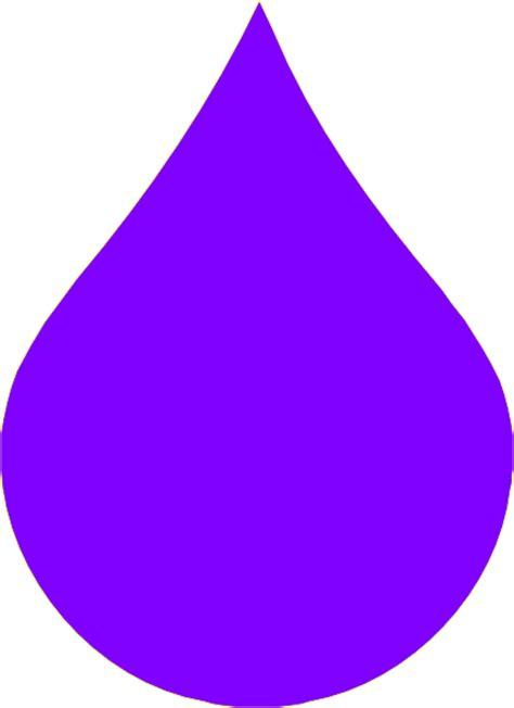 purple drop clip art  clkercom vector clip art