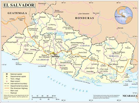 Geography Of El Salvador