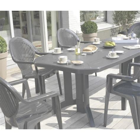 ensemble table et chaise de jardin grosfillex awesome fauteuil de jardin grosfillex blanc contemporary