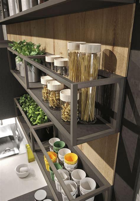 industrial loft kitchen  light wood  design digsdigs