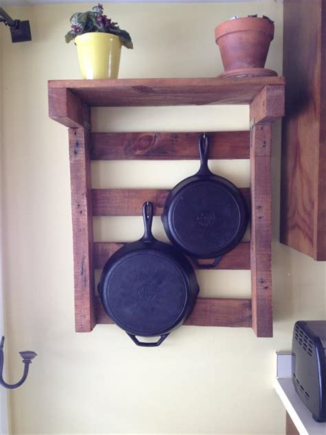 diy pallet kitchen pot rack pallet furniture plans