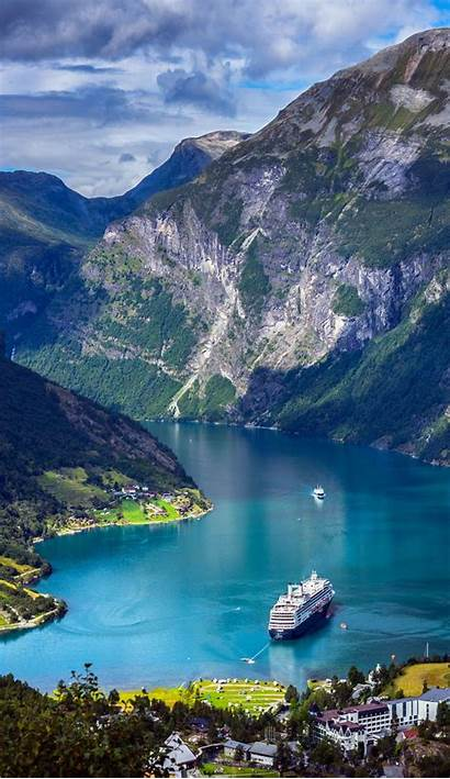 Norway Places Geiranger Travel Fjords Fjord Reasons