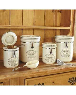 deal  chefs fresh valley farm  piece canister set