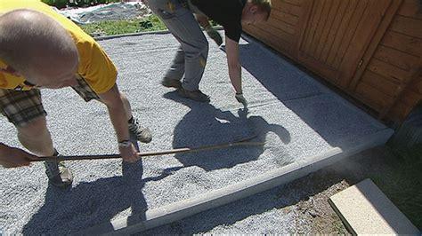 terrassenplatten verlegen auf splitt terrassenplatten auf beton in splitt verlegen