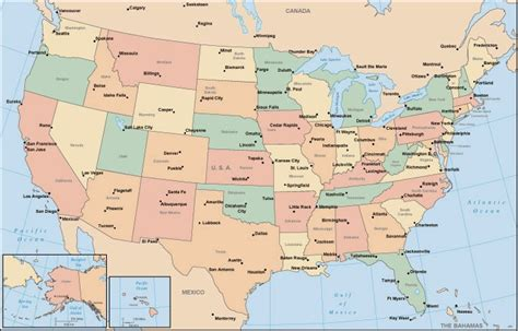 printable map  usa  printable maps