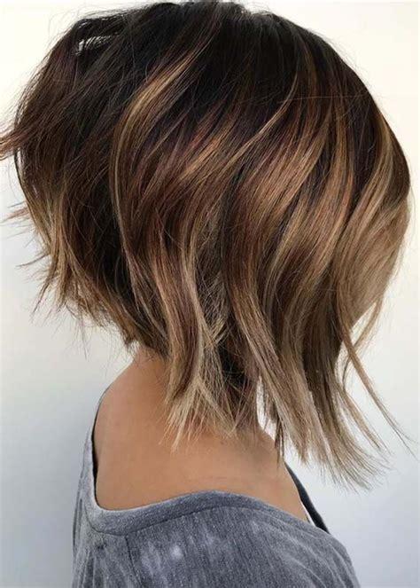 textured angled bob haircuts hairstyles