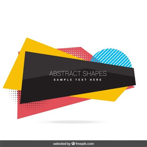 Abstract Shapes Shape Vector Png by Abstract Shapes Collection Vector Free