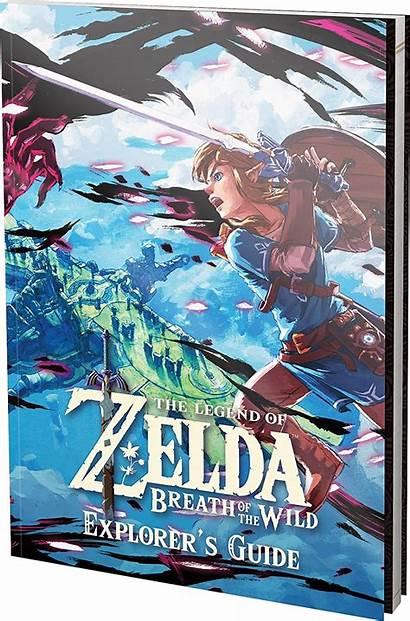 Zelda Guide Explorer Breath Legend Wild Botw
