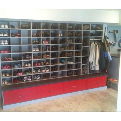 garage shoe storage 1000 images about shoe storage ideas on