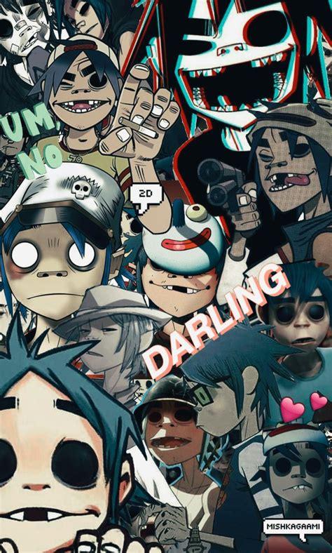 Anime Wallpaper 2d - gorillaz 2d and noodle wallpaper www pixshark