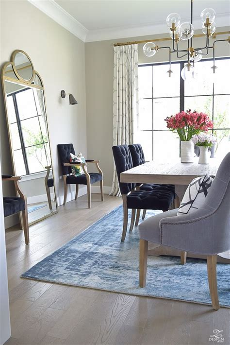 How To Choose The Perfect Dining Room Rug Rugs Photo Area
