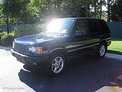 2002 Range Rover Hse by 2002 Oslo Blue Pearl Land Rover Range Rover 4 6 Hse