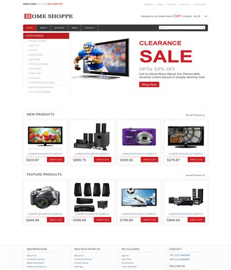 Free Ecommerce Template by 50 Outstanding Bootstrap Ecommerce Templates Wpfreeware