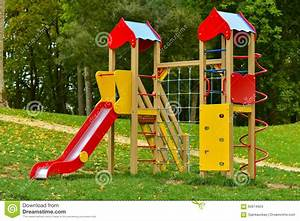 Playground equipment stock photo. Image of empty, nature ...