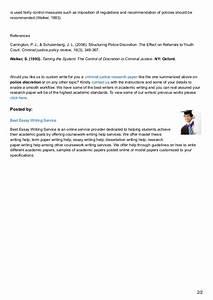 criminal justice case study essays
