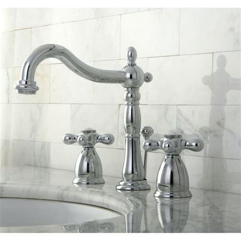 Shoo Sink Faucet shop kingston brass heritage chrome 2 handle widespread