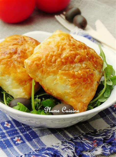 thon cuisine feuilletés thon tomates et mozarella une plume dans la