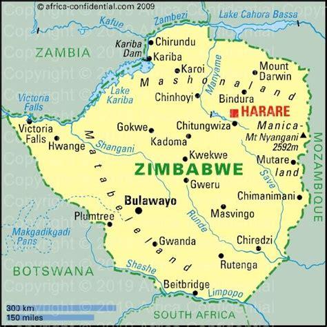 zimbabwe   map  africa jackenjuul