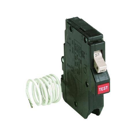 gfci breaker cutler hammer ch120gf single pole 120v 20 amp gfci plug on circuit breaker ebay