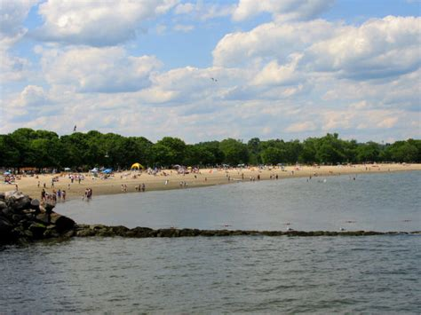 great beaches  connecticut   long island sound