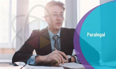 paralegal training  education
