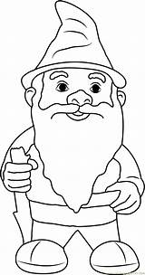 Gnome Garden Coloring Gnomes Printable Beard Fluffy Malvorlagen Zwerge Ausdrucken Template Coloringpages101 Getcolorings Adults Printables Cartoon Templates Colors Gnomeo Detailed sketch template
