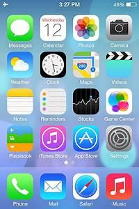 Evolución de la pantalla de inicio del iPhone