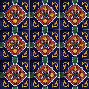 Traditional Mexican Tile Patterns