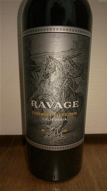 ravage wines cabernet sauvignon usa california