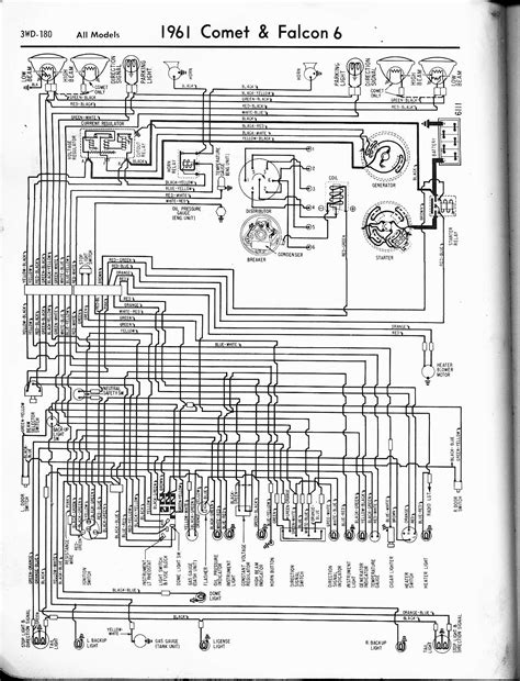 1964 Falcon Wiring Schematic by 1964 Ford Ranchero Ignition Wiring Diagram Wiring Library