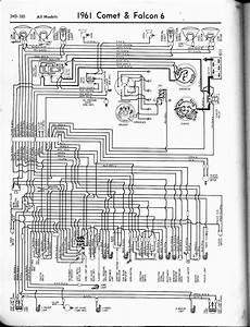 1961 Ford Comet And Falcon Wiring Diagram  59515