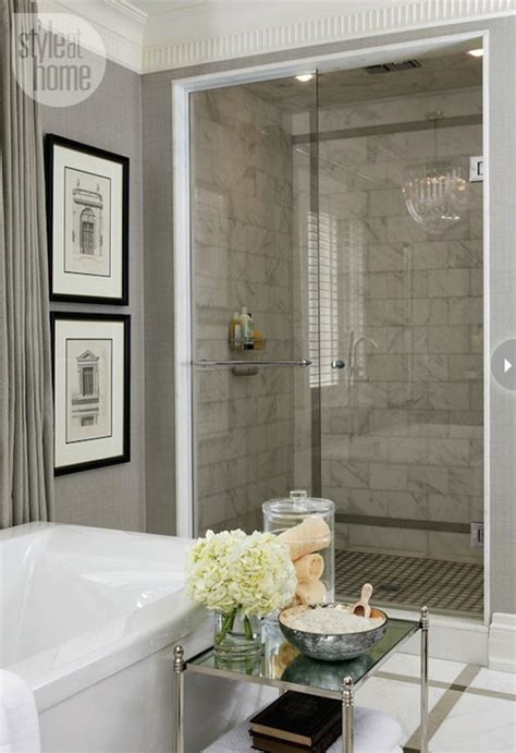 gray bathroom transitional bathroom style at home