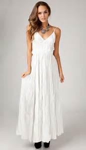 Best Summer White Maxi Dresses Photos 2017 Blue Maize