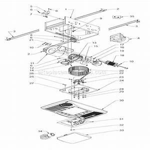 Broan 100hl Parts List And Diagram   Ereplacementparts Com