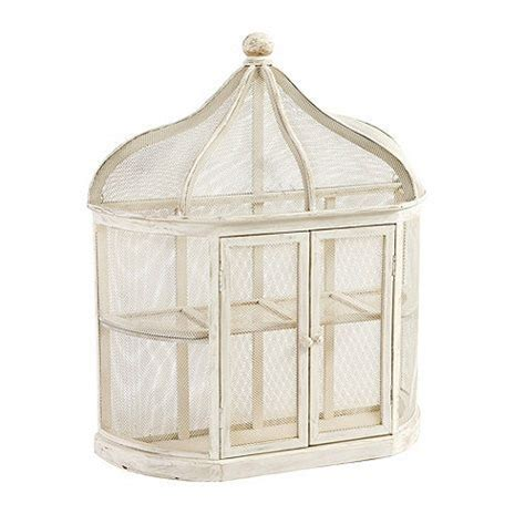 aviary birdcage decorative shelf accessorize